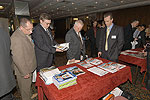 Display stands of leading publications attracted everybody's attention